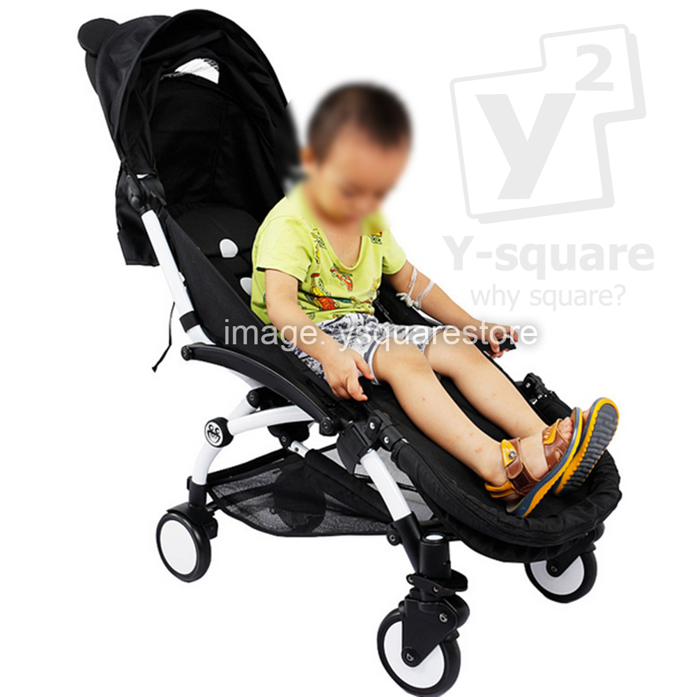 Activity & Gear Yoya/yoyo Stroller Accessories Baby Stroller Footboard Baby Foot Extension Footmuff Stroller Footrest Bumper Bar With Feet Rest Easy To Repair